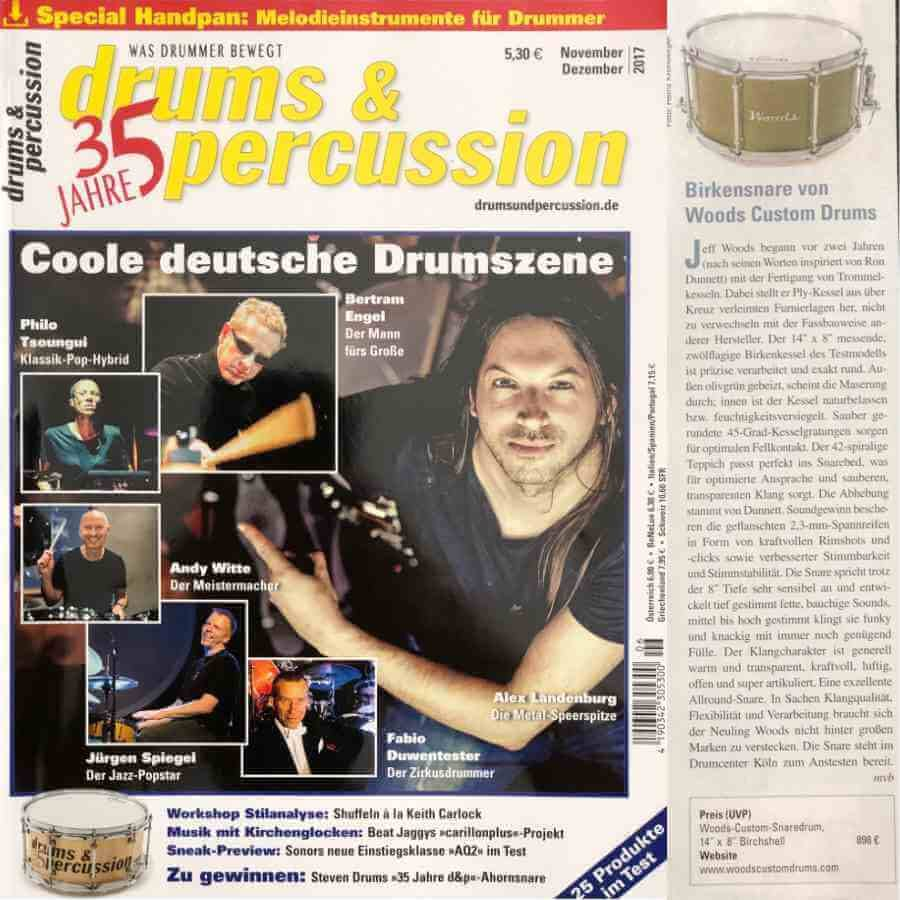drums & percussion Germany custom drum review