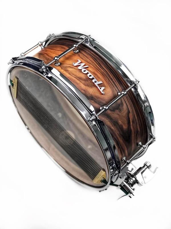 wood grain figured rosewood custom drum