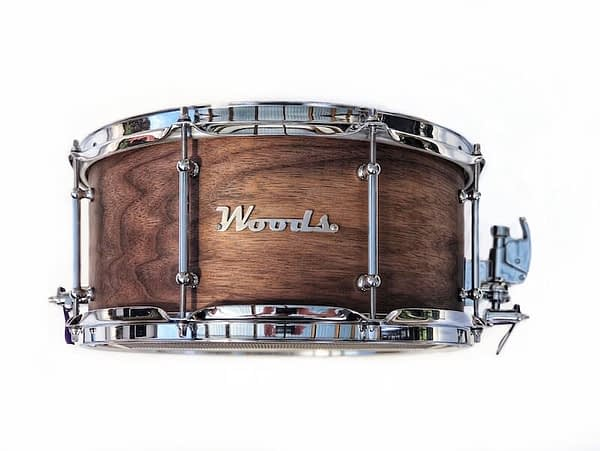 traditional walnut snare drum 14 x 7