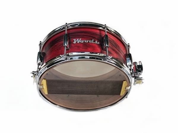Rosewood exotic snare drum