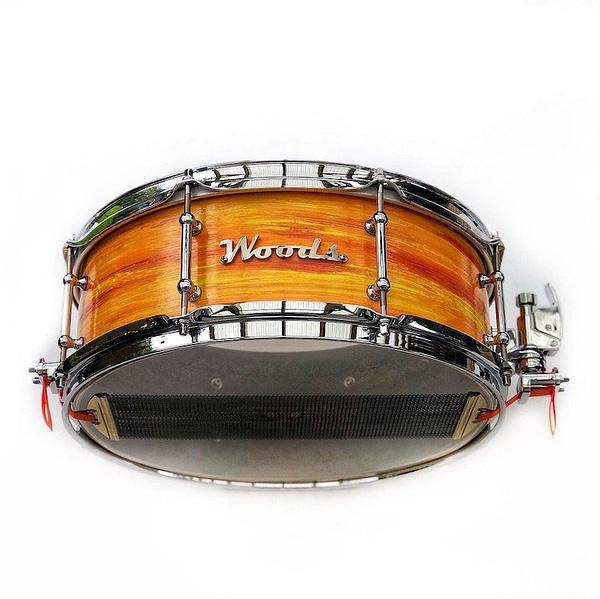 mod orange snare drum modern classic