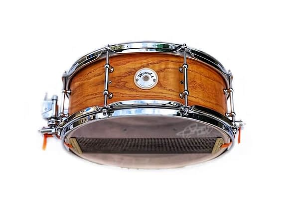 Honey amber ash three ply drum 14 x 5.5 snare