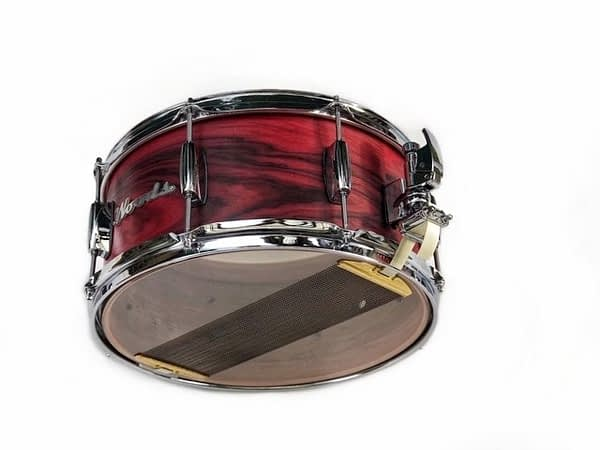 figured rosewood classic snare drum